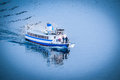 Passanger boat stockholm sweden march in baltic sea near stockholm sweden Royalty Free Stock Photos