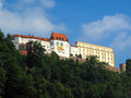 Passau Castle in Bavaria Royalty Free Stock Photography