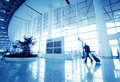 Passenger in the shanghai pudong airport interior of Royalty Free Stock Photos