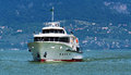Passenger ship on lake balaton hungary Royalty Free Stock Photos