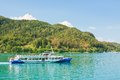 Passenger ship on worthersee austria lake worth Stock Photos