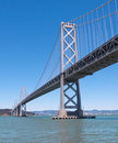 Passerelle de compartiment d'Oakland-San Francisco Photo stock