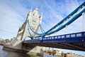 Passerelle de tour, Londres Images libres de droits