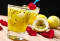 Passion Fruit Juice Stock Image