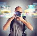 Passion for photography Royalty Free Stock Photo