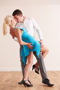 Passionate Couple Dancing Together Royalty Free Stock Photo