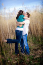 Passionate Kiss Royalty Free Stock Photo