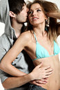 Passionate young couple Royalty Free Stock Photo