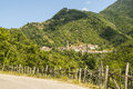 Passo del cirone toscane emilia forêt et villages Photo libre de droits
