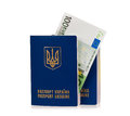 Passport Ukraine Stock Photography