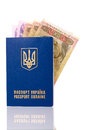 Passport Ukraine Royalty Free Stock Photography
