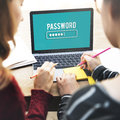 Password Access Firewall Internet Log-in Private Concept Royalty Free Stock Photo