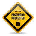 Password protected Royalty Free Stock Photos