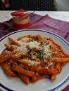 Pasta arrabiata Royalty Free Stock Photo