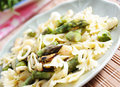 Pasta with Asparagus Royalty Free Stock Image