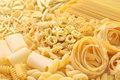 Pasta assortment italian food image Royalty Free Stock Photography