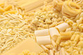 Pasta assortment italian food image Royalty Free Stock Photo