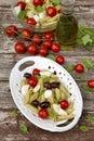 Pasta caprese Royalty Free Stock Photo