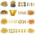 Pasta collection Royalty Free Stock Image