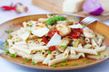 Pasta dish Royalty Free Stock Image