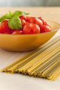 Pasta ingredients Stock Photo