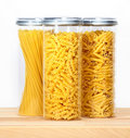 Pasta in a jar Royalty Free Stock Photos