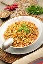 Pasta and lentil soup Royalty Free Stock Photo