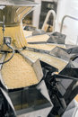 Pasta manufacturing production line Stock Photography