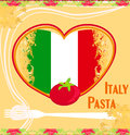 Pasta pattern Stock Photography