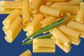 Pasta - Rigatoni Stock Photos