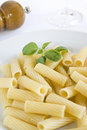 Pasta rigatoni Royalty Free Stock Images