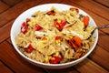 Pasta Salad Royalty Free Stock Photo