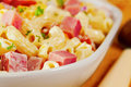 Pasta Salad with Ham Stock Images