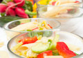 Pasta Salad With Vegetables Royalty Free Stock Image