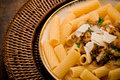 Pasta with Sicilian pesto Royalty Free Stock Photography