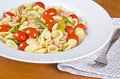 Pasta with Smoked Wild Salmon and Vegetable #2 Stock Image