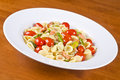 Pasta with Smoked Wild Salmon and Vegetable #4 Royalty Free Stock Images
