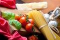 Pasta Still Life Stock Photo
