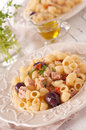 Pasta with tuna Royalty Free Stock Photo