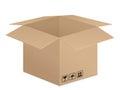 Pasteboard box Royalty Free Stock Photo
