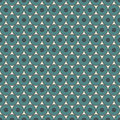 Pastel blue seamless pattern with repeated circles. Bubble motif. Geometric abstract background. Modern surface texture. Royalty Free Stock Photo