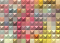 Pastel colored abstract geometric background