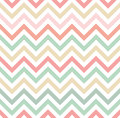 Pastel Colored Chevron Pattern