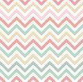 Pastel colored chevron pattern multiple colour in tones Stock Image