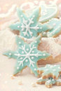 Pastel colored cookies Royalty Free Stock Image
