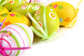 Pastel And Colored Easter Eggs