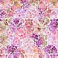 Pastel distressed textured damask background