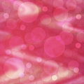 Pastel festive background light circles on pink fabric texture Stock Images