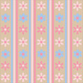 Pastel Floral Pattern Royalty Free Stock Photography