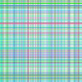 Pastel green and blur multicolored stripes plaid